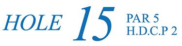 15番ホール