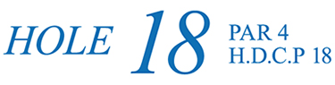 18番ホール